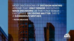 Applied-Education-Quote-Decision-Making-Mistake
