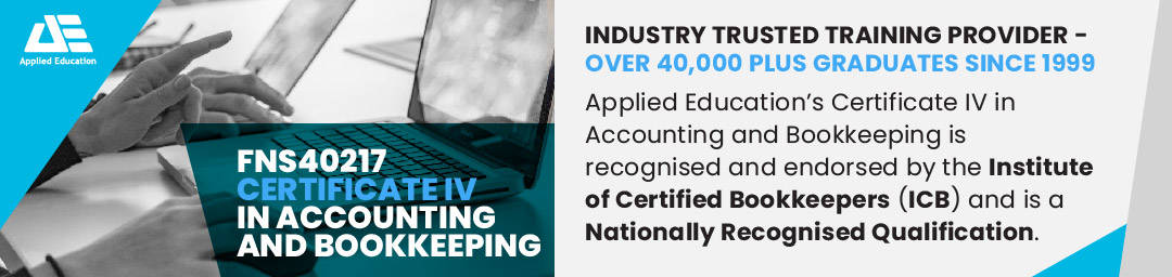 Queensland Government Funding Certificate IV in Accounting & Bookkeeping